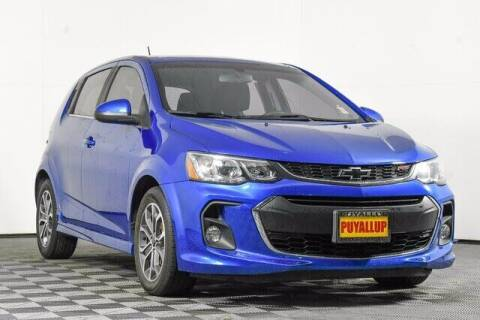 2018 Chevrolet Sonic for sale at Chevrolet Buick GMC of Puyallup in Puyallup WA