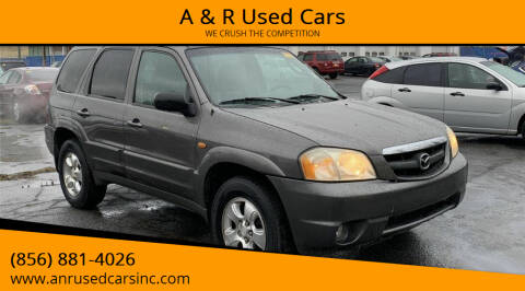2003 Mazda Tribute for sale at A & R Used Cars in Clayton NJ