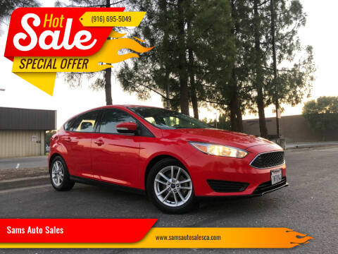 2015 Ford Focus for sale at Sams Auto Sales in North Highlands CA