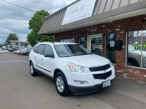 2010 Chevrolet Traverse for sale at M&M Auto Sales in Portland OR