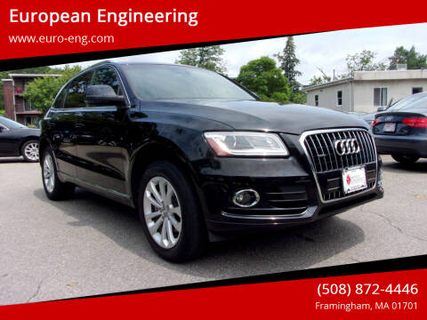 2013 Audi Q5 for sale at European Engineering in Framingham MA