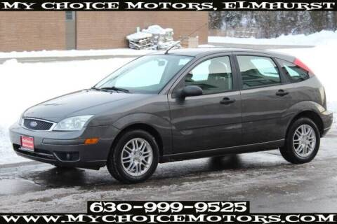 2005 Ford Focus for sale at My Choice Motors Elmhurst in Elmhurst IL
