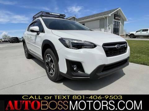2019 Subaru Crosstrek for sale at Auto Boss in Woods Cross UT