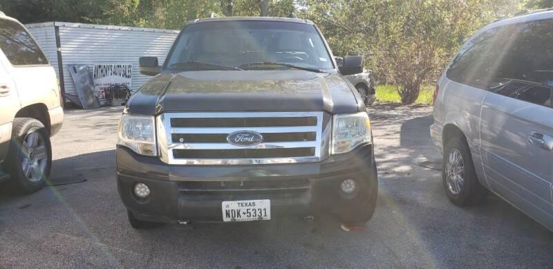 2007 Ford Expedition for sale at Anthony's Auto Sales of Texas, LLC in La Porte TX
