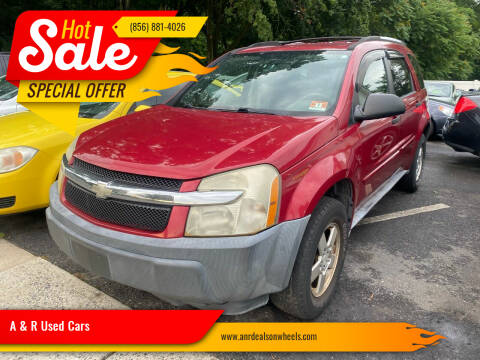 2005 Chevrolet Equinox for sale at A & R Used Cars in Clayton NJ