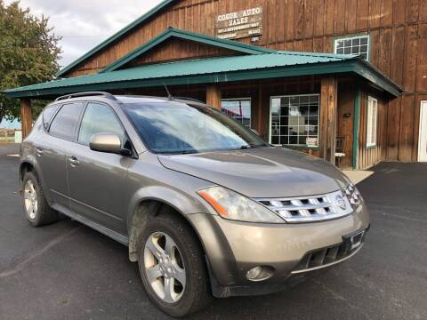 2004 Nissan Murano for sale at Coeur Auto Sales in Hayden ID