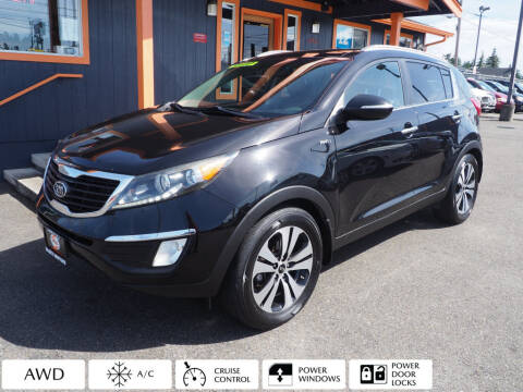 2012 Kia Sportage for sale at Sabeti Motors in Tacoma WA