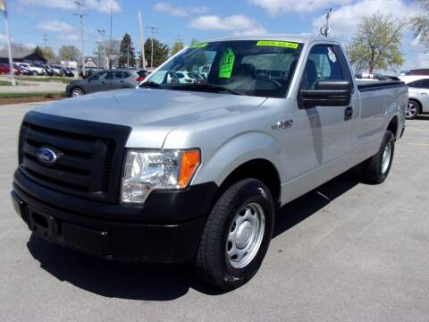 2010 Ford F-150 for sale at Ideal Auto Sales, Inc. in Waukesha WI