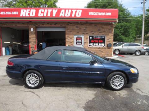 2005 Chrysler Sebring for sale at Red City  Auto in Omaha NE