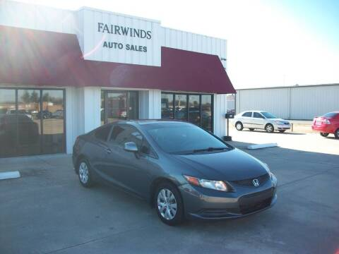 2012 Honda Civic for sale at Fairwinds Auto Sales in Dewitt AR