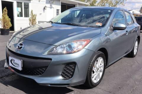 2013 Mazda MAZDA3 for sale at Randal Auto Sales in Eastampton NJ