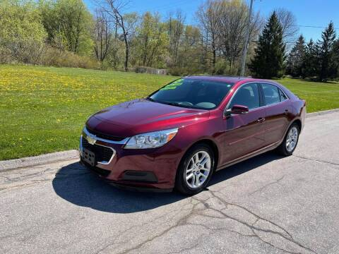 2015 Chevrolet Malibu for sale at Aleid Auto Sales in Cudahy WI
