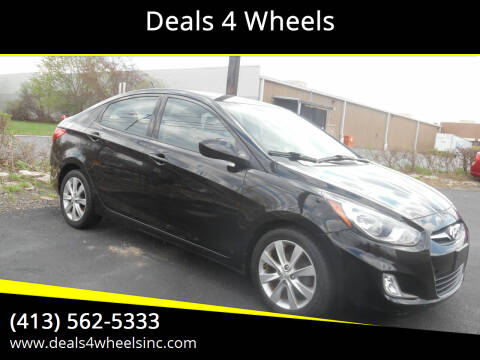 2012 Hyundai Accent for sale at Deals 4 Wheels in Westfield MA