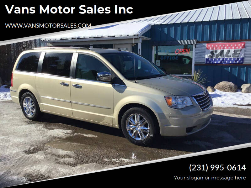 2010 Chrysler Town and Country for sale at Vans Motor Sales Inc in Traverse City MI