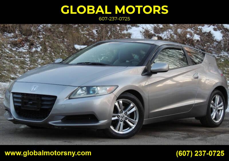 2011 Honda CR-Z for sale at GLOBAL MOTORS in Binghamton NY
