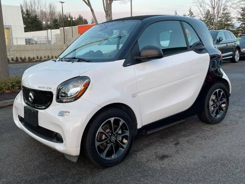 2017 Smart fortwo electric drive for sale at GO AUTO BROKERS in Bellevue WA