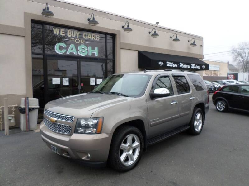 2007 Chevrolet Tahoe for sale at Wilson-Maturo Motors in New Haven Ct CT
