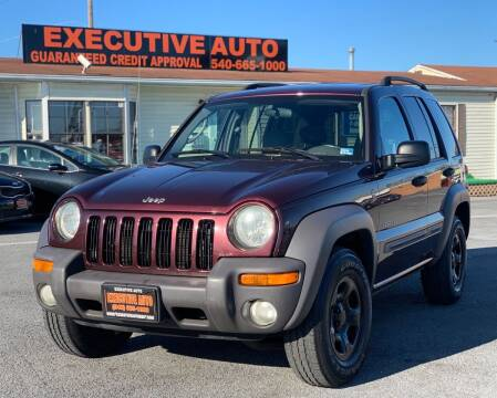 2004 Jeep Liberty for sale at Executive Auto in Winchester VA