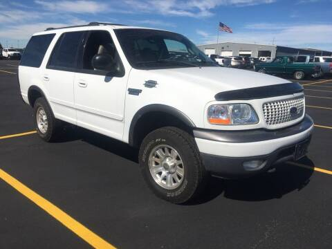 2002 Ford Expedition for sale at KHAN'S AUTO LLC in Worland WY