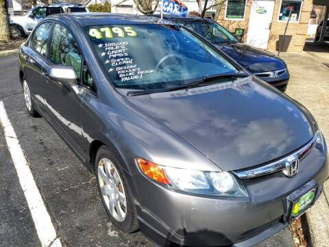 2006 Honda Civic for sale at Oak Hill Auto Sales of Wooster, LLC in Wooster OH