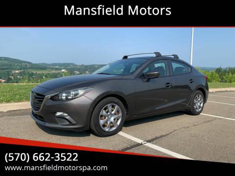 2014 Mazda MAZDA3 for sale at Mansfield Motors in Mansfield PA