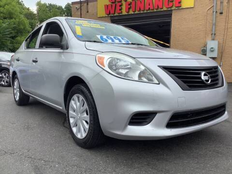 2012 Nissan Versa for sale at Active Auto Sales Inc in Philadelphia PA