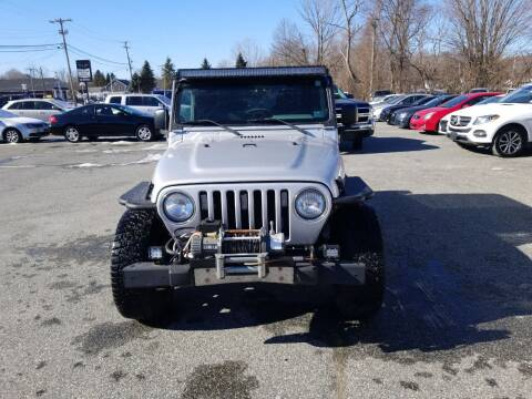 2003 Jeep Wrangler for sale at AutoConnect Motors in Kenvil NJ