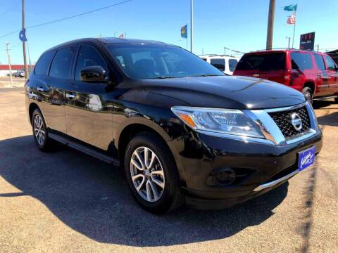 2014 Nissan Pathfinder for sale at California Auto Sales in Amarillo TX