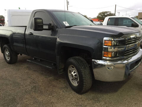 2017 Chevrolet Silverado 2500HD for sale at BSA Used Cars in Pasadena TX