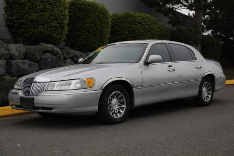 2002 Lincoln Town Car for sale at SS MOTORS LLC in Edmonds WA