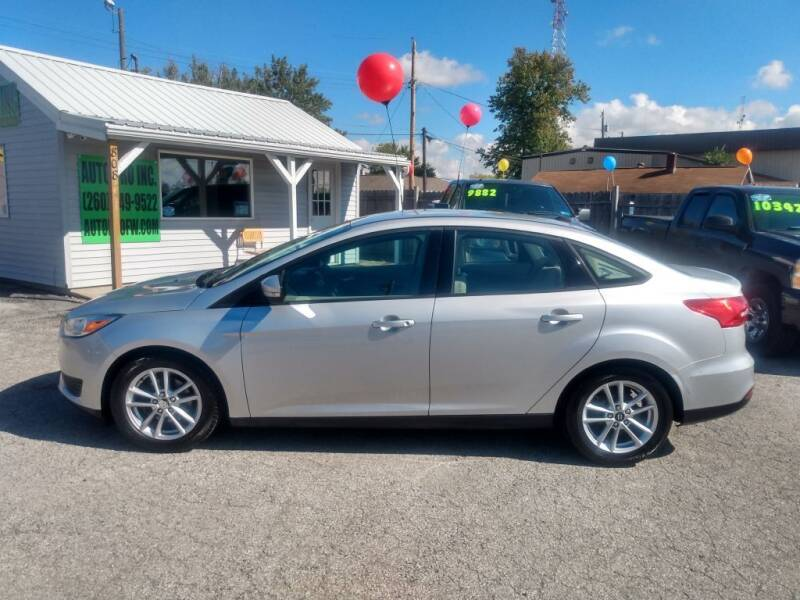 2016 Ford Focus for sale at Auto Pro Inc in Fort Wayne IN