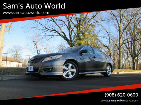 2011 Toyota Camry for sale at Sam's Auto World in Roselle NJ