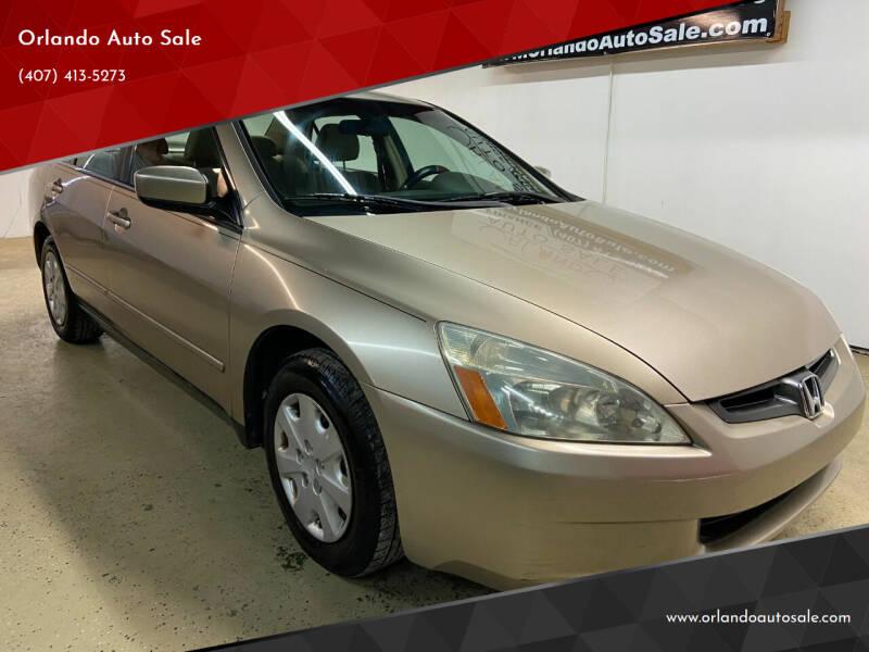 2003 Honda Accord for sale at Orlando Auto Sale in Orlando FL