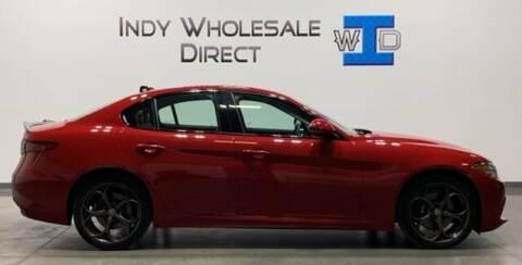 2018 Alfa Romeo Giulia for sale at Indy Wholesale Direct in Carmel IN