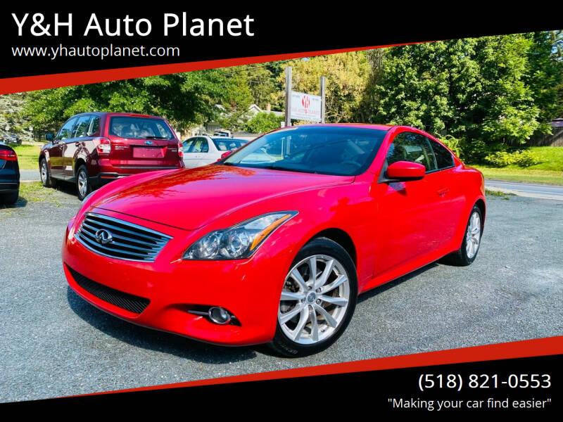 2011 Infiniti G37 Coupe for sale at Y&H Auto Planet in West Sand Lake NY