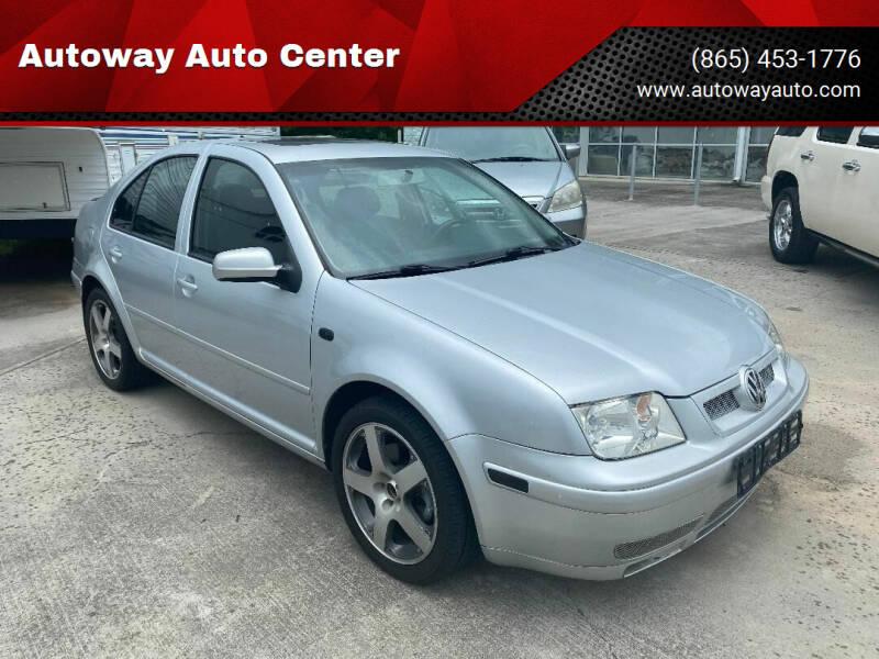 2003 Volkswagen Jetta for sale at Autoway Auto Center in Sevierville TN