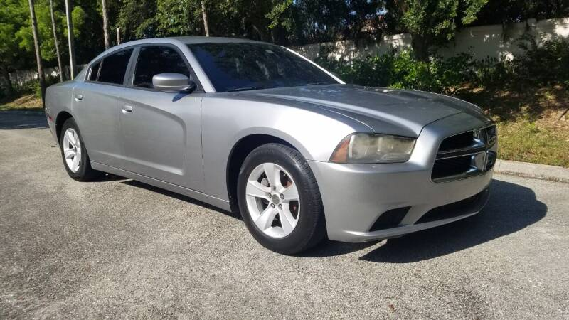 2013 Dodge Charger for sale at DELRAY AUTO MALL in Delray Beach FL