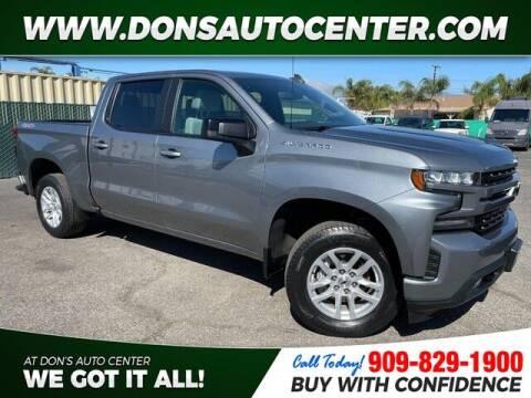 2019 Chevrolet Silverado 1500 for sale at Dons Auto Center in Fontana CA
