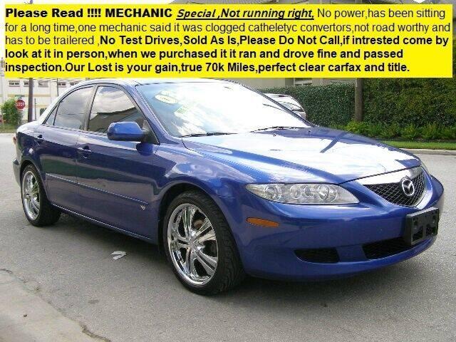 2003 Mazda MAZDA6 for sale at SARCO ENTERPRISE inc in Houston TX