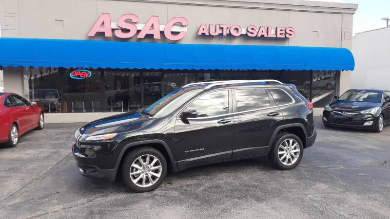 2014 Jeep Cherokee for sale at ASAC Auto Sales in Clarksville TN