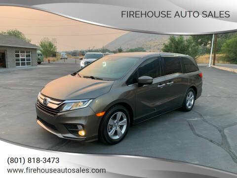 2019 Honda Odyssey for sale at Firehouse Auto Sales in Springville UT