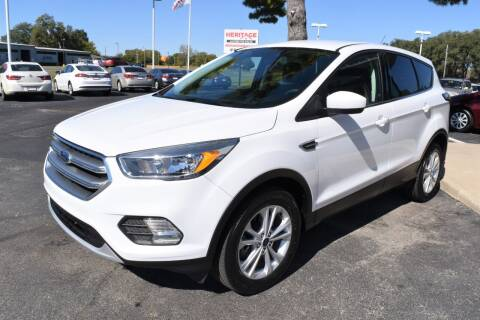 2017 Ford Escape for sale at Heritage Automotive Sales in Columbus in Columbus IN
