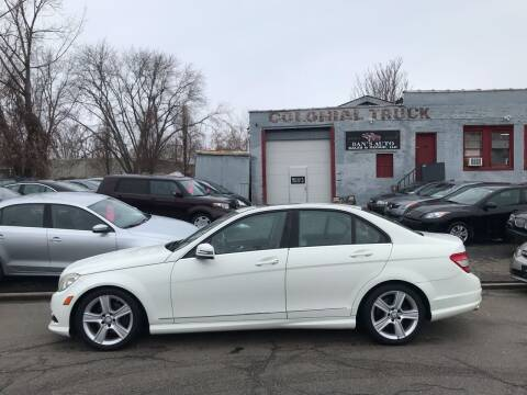 2010 Mercedes-Benz C-Class for sale at Dan's Auto Sales and Repair LLC in East Hartford CT