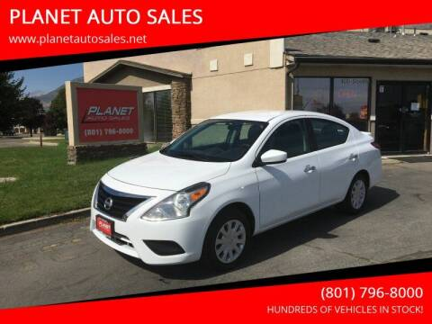 2019 Nissan Versa for sale at PLANET AUTO SALES in Lindon UT