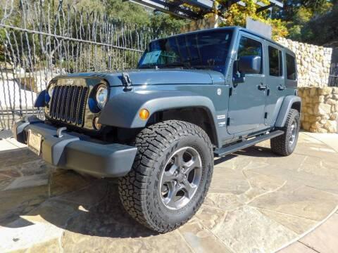 2018 Jeep Wrangler JK Unlimited for sale at Milpas Motors in Santa Barbara CA