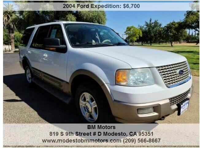 2004 Ford Expedition for sale at BM Motors in Modesto CA