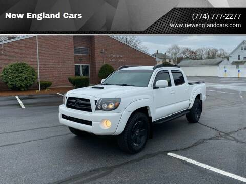 2010 Toyota Tacoma for sale at New England Cars in Attleboro MA