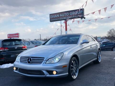 2006 Mercedes-Benz CLS for sale at Divan Auto Group in Feasterville Trevose PA