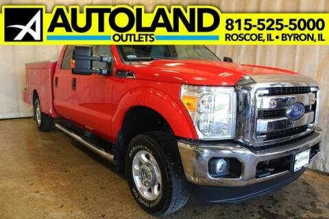 2016 Ford F-250 Super Duty for sale at AutoLand Outlets Inc in Roscoe IL