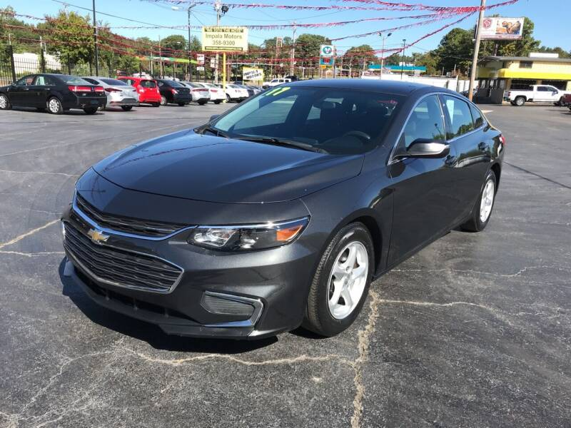 2017 Chevrolet Malibu for sale at IMPALA MOTORS in Memphis TN